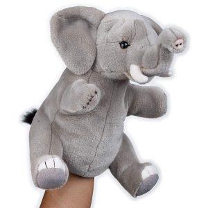 Titere de peluche Elefante