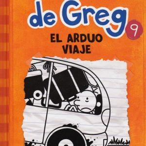 Libro diario de Greg 9 - el arduo viaje - Jeff Kinney
