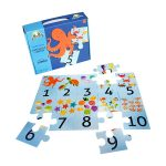 Rompecabeza para niños «Aprendo a contar 20 pza jumbo» marca Mis pasitos
