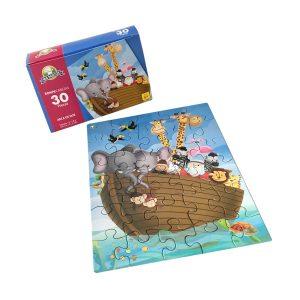 Rompecabeza para niños «Arca de Noe 30 pza» marca Mis pasitos