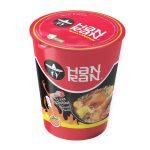Sopa ramen instantanea sabor gallina pechugona picante HAN RAN (80g X 12und)