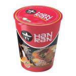 Sopa ramen instantanea sabor carne al hueso original picante HAN RAN (80g X 12und)