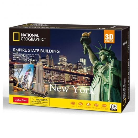 Rompecabezas 3D Empire State Building National Geographic