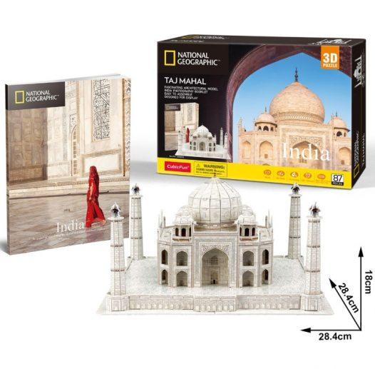 Rompecabezas 3D Taj Mahal – National Geographic
