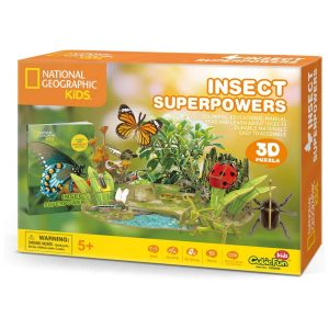 Rompecabezas 3D Insect Superpowers National Geographic