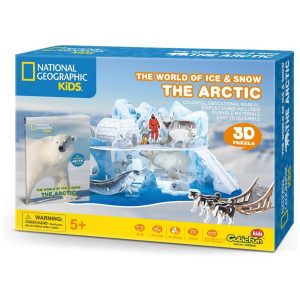 Rompecabezas 3D The World Of Ice & amp; Snow The Arcyic National Geographic