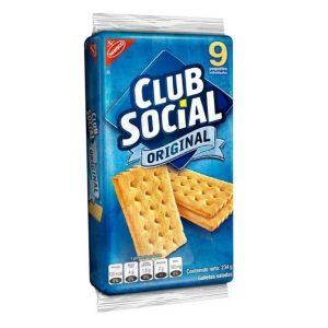 Galleta CLUB SOCIAL original (26g X 9und)