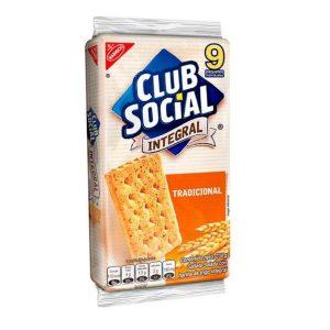 Galleta CLUB SOCIAL integral tradicional (26g X 9und)