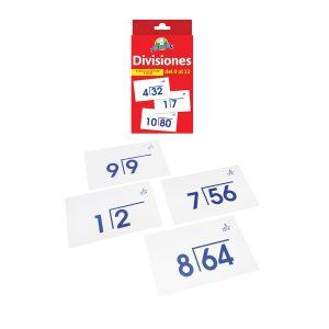 Juego para niños Cartas «divisiones» Mis Pasitos