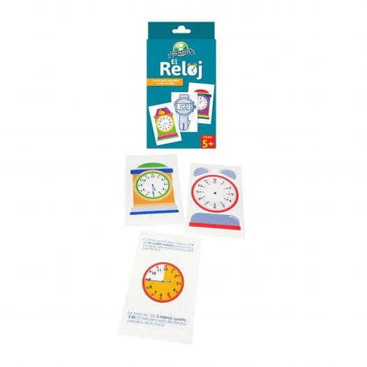 Juego para niños Cartas «el reloj» Mis Pasitos