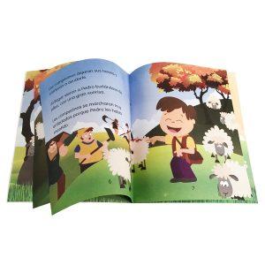 Libro de cuento infantil - Pedro y el lobo