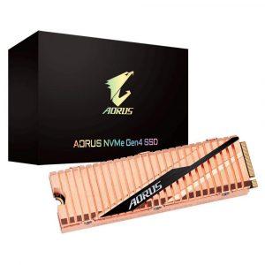 Unidad SSD M.2 2280 500GB Gigabyte Aorus PCIe 4.0 NVMe