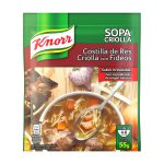 Sopa instantanea KNORR COSTILLA CRIOLLA C/FIDEOS (55g X 12und)
