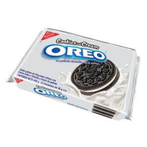 Oreo Paquete de Galletas Cookies and Creme con12 unidades de 36g