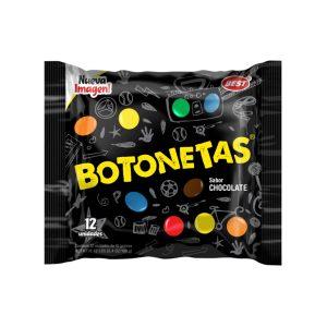 Botonetas rellenas de chocolate (13g X 12 und)