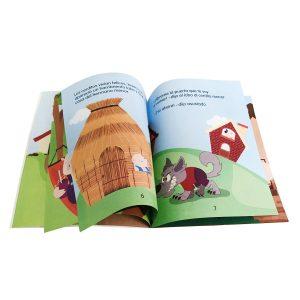 Libro de cuento infantil - Los tres cochinitos