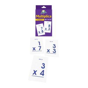 Juego para niños Cartas «multiplicaciones» Mis Pasitos