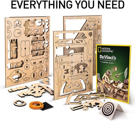 Rompecabezas Da Vinci's Inventions Ballista National Geographic