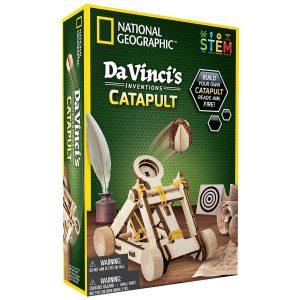 Rompecabezas Da Vinci's Inventions Catapult – National Geographic
