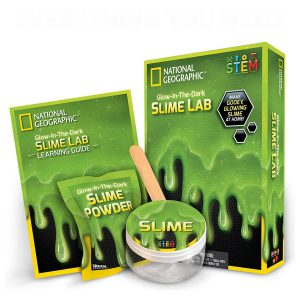Slime lab Kit color Verde National Geographic