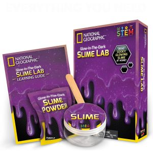 Slime lab Kit color Morado National Geographic