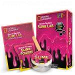 Slime lab Kit color Rosado National Geographic