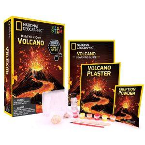 Construyendo tu propio Volcán National Geographic