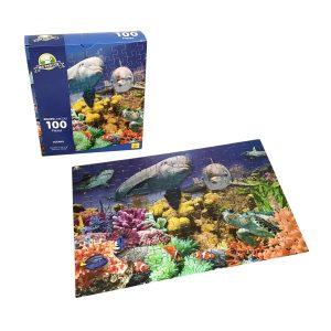 Rompecabeza para niños «Oceano 100 pza» marca Mis pasitos