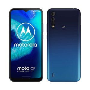 """Celular Motorola G8 Power Lite 4GB RAM 64GB 6.5"""" DualSIM (Liberado) color Azul Royal"""
