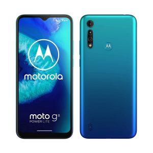 """Celular Motorola G8 Power Lite 4GB RAM 64GB 6.5"""" DualSIM (Liberado) color Azul Artico"""