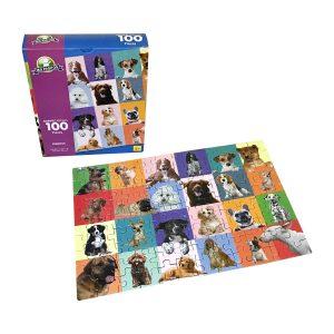 Rompecabeza para niños «Perritos 100 pza» marca Mis pasitos