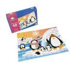 Rompecabeza para niños «Pinguino 60 pza» marca Mis pasitos
