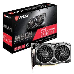 Tarjeta de Vídeo AMD Radeon 4GB RX 5500 XT MECH GDDR6