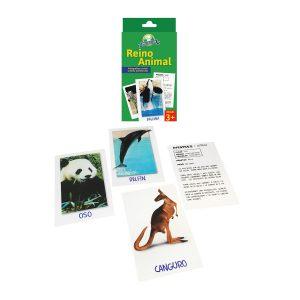 Juego para niños Cartas «reino animal» Mis Pasitos