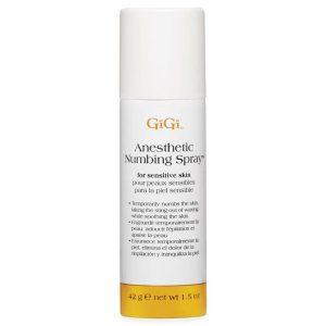 Anestesia en spray para depilar marca GiGi