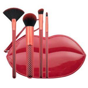 Kit de brochas para maquillaje de 5 Piezas marca Beauty Stuff