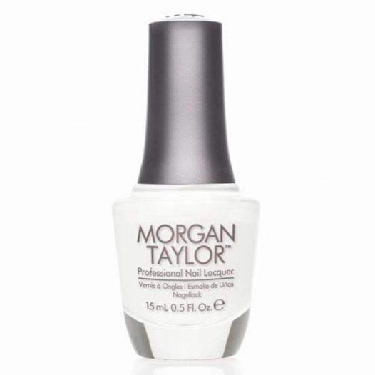 Esmalte para Uñas All White Now marca Morgan Taylor