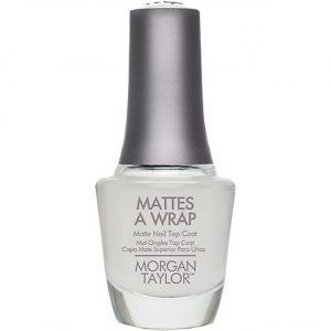 Matificador para esmalte Mattes A Wrap marca Morgan Taylor
