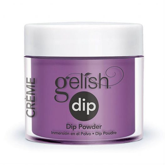 Polvo para Dip Plum And Done 1610866 marca Gelish