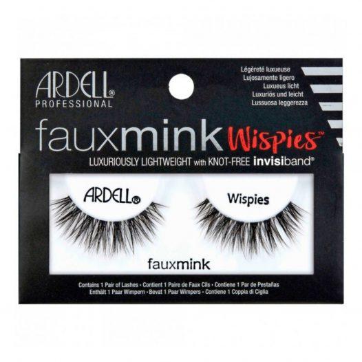 Pestañas Faux Mink Modelo Wispies marca Ardell
