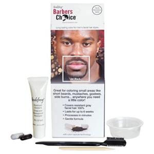 Tinte para Coloracion de Barba y Bigote 3 Aplicaciones color Jet Black marca Godefroy