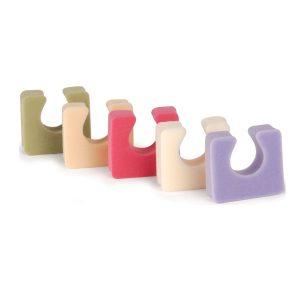 Espaciadores diversos colores Colores Pastel 12 Unidades marca Cuccio