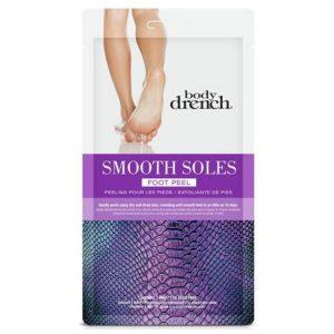 Tratamiento para exfoliación de pies 1 par marca Body Drench