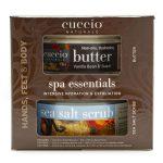 Exfoliante 19.5 Onzas + Butter 8 Onzas Vainilla marca Cuccio