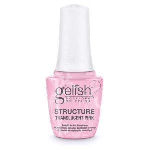 Gel estructural color Rosado 15ml marca Gelish