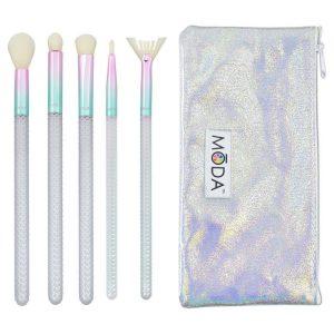 Kit de Brochas para maquillaje de 6 piezas marca Moda Pro