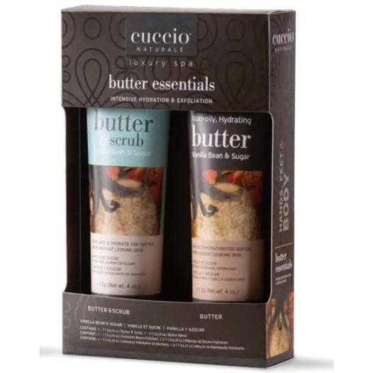 Kit Crema Scrub+Crema corporal marca Cuccio