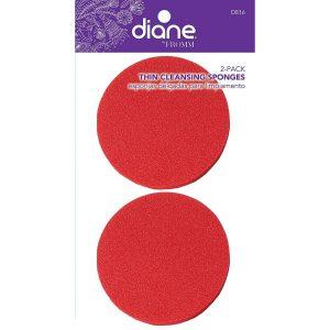 Esponja Roja Para Limpieza Facial 2 unidades marca Diane