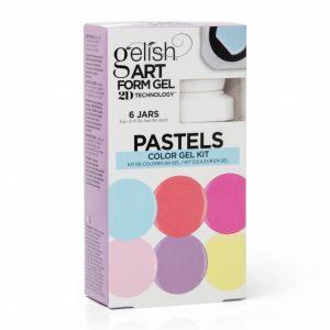 Art Form Gel Pastel Kit marca Gelish®