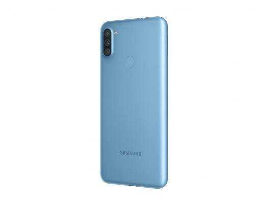 """Celular Samsung Galaxy A11 2GB RAM 32GB 6.4"""" Liberado Dual SIM Color Azul"""